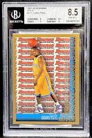 Chris Paul 2005-06 Bowman DP & Pros Gold Rookie RC #111 BGS 8.5 POP 16