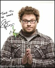 Seth Rogen 8 x 10 Autograph Reprint  Pineapple Express This Is the End  Superbad