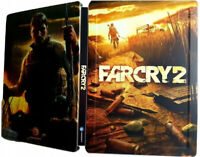 FAR CRY 2 STEELBOOK BRAND NEW STEEL CASE PC XBOX 360 PS3 STEELBOX no game FARCRY