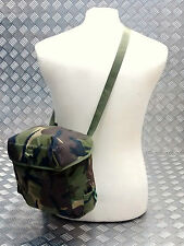 véritable British Army S10 S6 GAZ MASQUE SAC DPM Camouflage Havresac