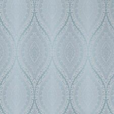 Grandeco Wallpaper - Luxury Kismet Damask / Glittered - Metallic Teal - A17702