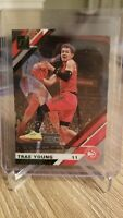 2019-20 Panini Clearly Donruss Trae Young Gold Acetate