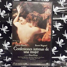 CONFESIONES INTIMAS DE UNA MUJER (Diane Kurys) VHS . Juliette Binoche, Benoît Ma