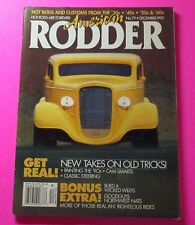 AMERICAN RODDER MAGAZINE DEC/1995...1934 CHEVY COUPE COVER CAR..CAM SMARTS