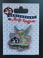 Disney Park Pin Tading 45th Anniversary Magic Kingdom Tinkerbell