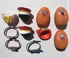 Vintage 1988 McDonalds Chicken Nugget Buddies Happy Meal Toys McNuggets