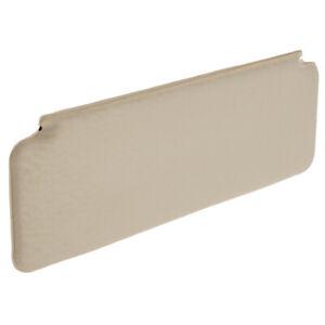 Sun Visor Pad Cream Crackle Vinyl Plain Newton Commercial Classic Mini 1966-00