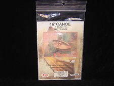 New N scale Osborn Models 16' Canoe kit Rra-3006