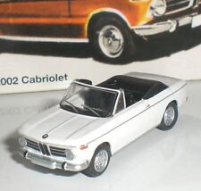 BUB 08452 VOITURE BMW 320 CABRIOLET METAL LIMITED EDITION SCALE 1:87 HO NEUF OVP