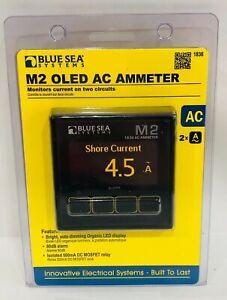 Blue Sea Systems 1836 M2 Ac Ammeter OLED Digital Meter