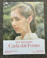 Collectable Crack Newspaper Paper Advert Carla Dal Forno Live 2019 The Exchange
