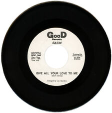 """Satin """"Give all your love to me"""" KILLER MODERN SOUL"""