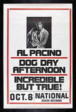 DOG DAY AFTERNOON ✯ CineMasterpieces RARE MOVIE POSTER ROLLED 1975 AL PACINO