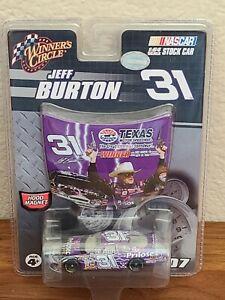 2007 #31 Jeff Burton Prilosec OTC Texas Win 1/64 Winners Circle NASCAR