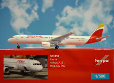 HERPA wings 1:500 Airbus a321 IBERIA EC-IX 527439