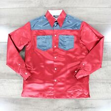 Calvin Klein 205W39NYC Long Sleeve Shirt MWTA99 In Red RRP £430