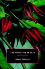 The Names of Plants, , Gledhill, David, Good, 2002-11-04,