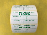 100 PAT Test Pass stickers label passed Portable Appliance Testing Labels 50x25