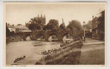 Herefordshire postcard - Hereford, Wye Bridge