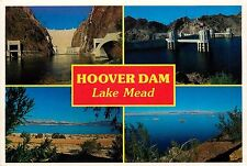 HOOVER DAM LAKE MEAD NEVADA PM POSTCARD