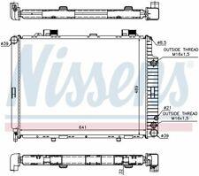 Radiator 62691A Nissens North America