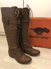 Rocket Dog Brown Boots Size UK4