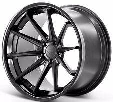 """20"""" Ferrada FR4 9/10.5 Concave Matte Black Wheels for BMW F80 F82 F83 M3 M4 2015"""