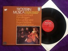 Q386 Trösterin Musica Mozart Bach Barock Rokoko Couperin Philips 6833 107 Stereo