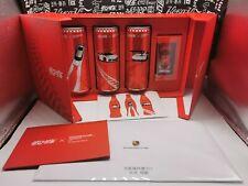 china 2020 Coca Cola X porsche Asian Carrera Cup car can box empty