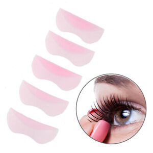 Silicone Lash Lift Perm Rods Eyelash Curler Shields 5 Sizes For Lifting Reusable