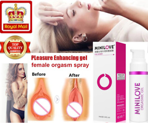 Exciter for Women Orgasm Vagina Tightening Gel Spray Moistening Enhancer 10ml UK