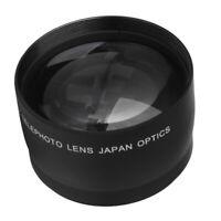 52mm 2x Teleobjektiv Telekonverter Für Nikon AF-S DX Nikkor 18mm-55mm DSLR