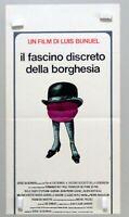 L.BUNUEL - IL FASCINO DISCRETO DELLA BORGHESIA - LOCANDINA ORIG. I°EDIZ.ITA.1973