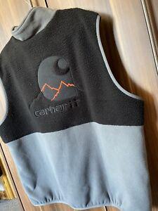 """Carhartt Outdoor  C Vest """"Husky/Black"""" Jacket Gilet Size XS"""
