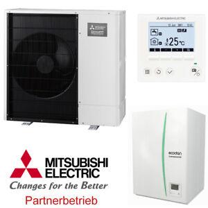 Mitsubishi Zubadan Wärmepumpen-Set 1.15 Split-System 14 kW mit Hydromodul