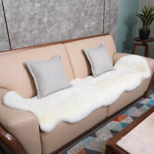 Australian Real Sheepskin Rug Genuine Area Rugs Two Pelt Natural Fur Carpet Mat