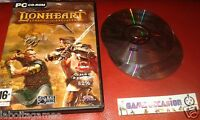 LIONHEART LEGACY OF THE CRUSADER PC CD-ROM PAL