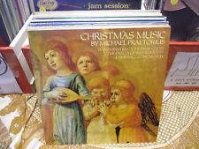 Michael Praetorius Christmas Music vinyl LP 1986 Hyperion Records UK EX Xmas