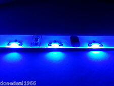 BLUE MODDING PC TWIN 30CM STRIPS MOBO BACKLIGHT CASE EDGE LED STRIP MOLEX