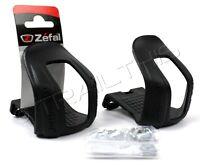 Zefal Half Toe Clips Christophe 45 Large (L/XL) Polymer MTB Commuter Road Bike