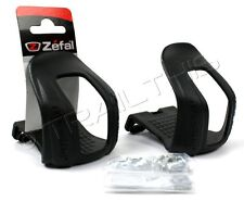 Zefal Half Toe Clips Christophe 45 Large (L/XL) Polymer MTB Commuter Road Bike