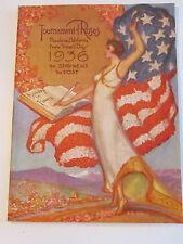 1936 TOURNAMENT OF ROSES - MAGAZINE PROGRAM - GOOD COND.-  TUB Z