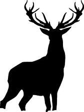 Stag Deer Car Camper Van Window Sticker Decals #2