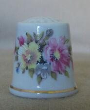 Summer Blossoms Parbus Porzellan (Porcelain) Thimble - TCC