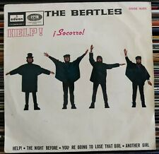 "The Beatles - Help! = ¡Socorro! (7"", EP) (Odeon) DSOE 16.675 (D:VG+)"