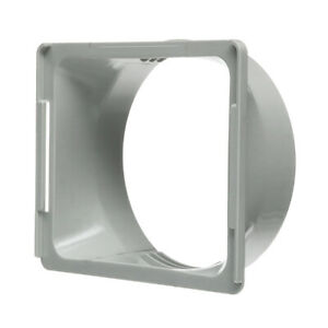 Exhaust Duct Pipe Interface For Portable Air Conditioner Hose Connector