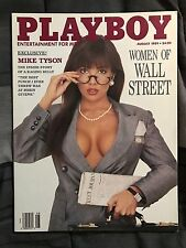 Playboy Magazine August 1989 Women Of Wall Street Issue
