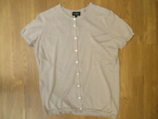 Margaret Howell Taupe Knitted 100% Cotton Top Size M UK 14