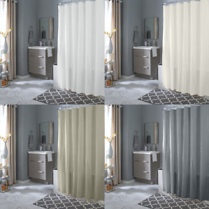 Hotel Collection Mold & Mildew Resistant Fabric Shower Curtain - Assorted Colors