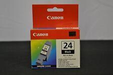 Canon BCI-24 Black Ink Cartridge Genuine 24
